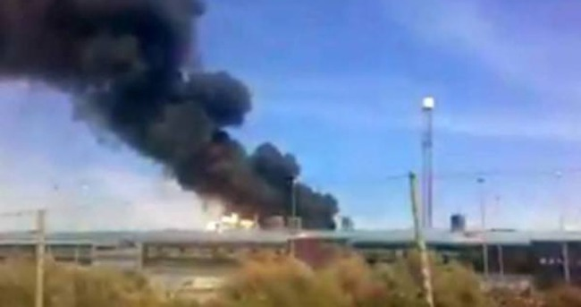 İspanya'da askeri nakliye uçağı düştü