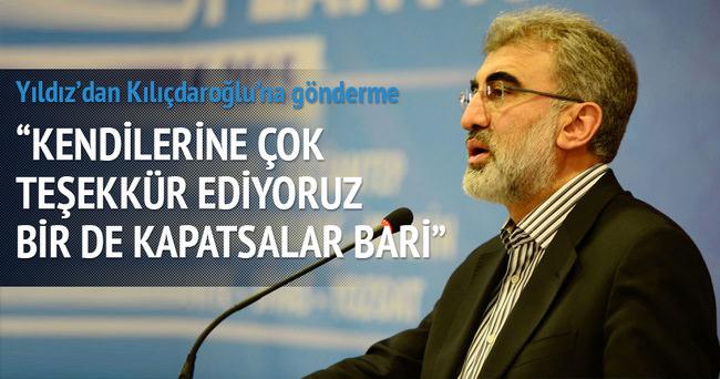 Taner Yıldız'dan Kılıçdaroğlu'na gönderme