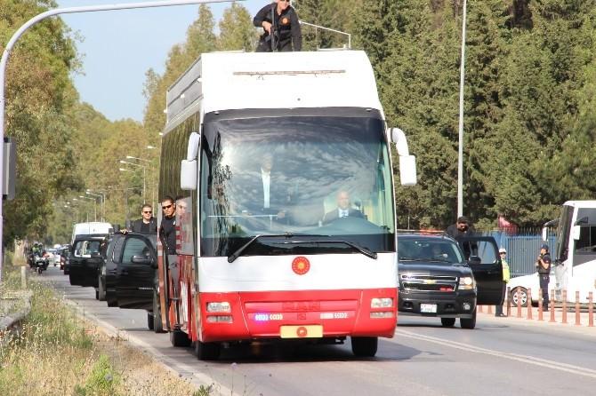 """Erdoğan'dan """"Başkomutan"""" Ziyareti"""
