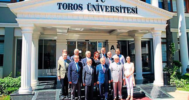 Toros Üniversitesi Çakacak'ı ağırladı
