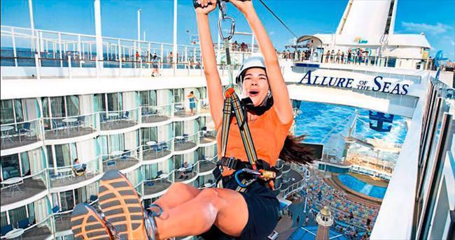 Akdeniz'de eğlence, konfor, macera burada