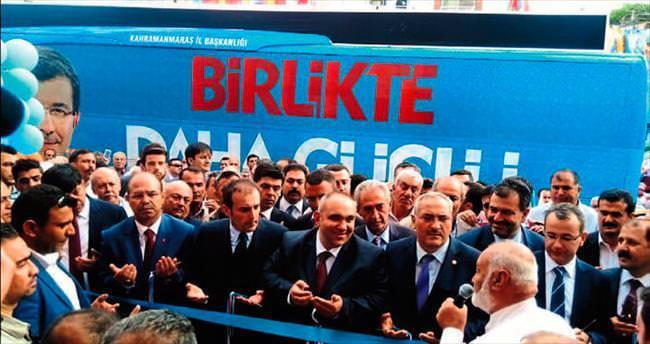 AK Parti Osmaniye'de seçim bürosunu açtı