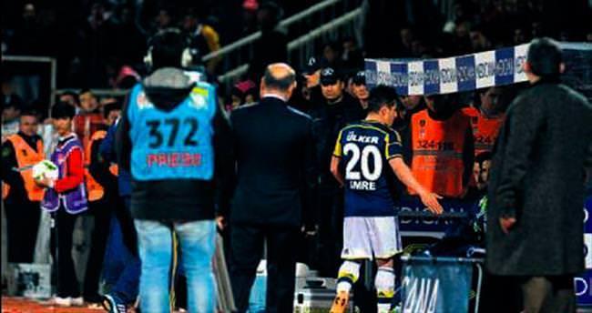 Emre Belözoğlu kulübede çıldırdı