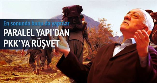 PKK'ya paralel rüşvet