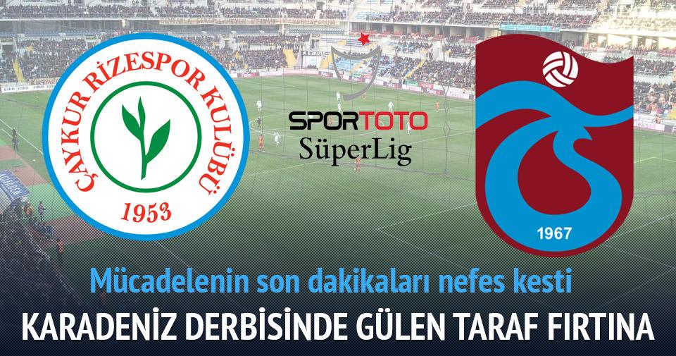 Karadeniz derbisi Trabzonspor'un
