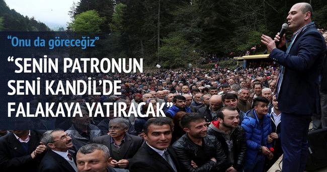 Soylu'dan Demirtaş'a gönderme
