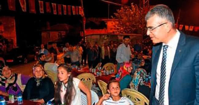 MHP'li adayların Manavgat ziyareti