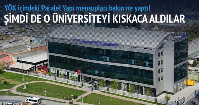 Haliç Üniversitesi'ne gözdağı gibi denetim