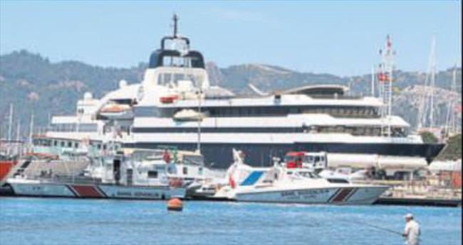 Lüks yatın haftalık kirası 2 milyon lira