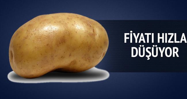 Patates fiyatları yeni mahsullerle düşmeye başladı