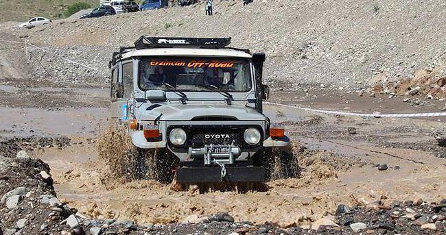 Erzincan'da off-road heyecanı!