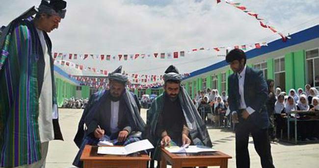TİKA Kabil'de okul binası onardı
