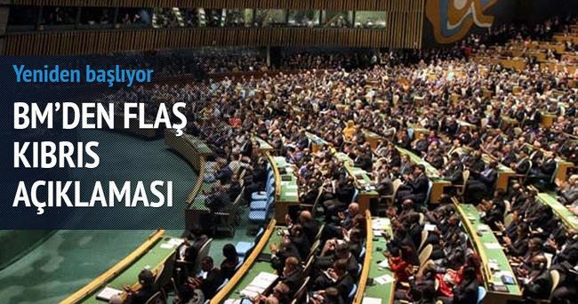 BM'den flaş 'Kıbrıs' açıklaması
