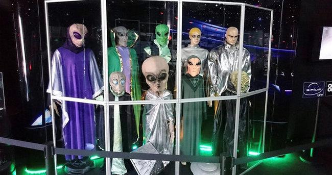 UFO sergisi meraklıları ile buluşuyor