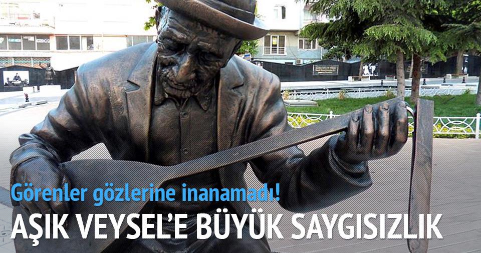 AŞIK VEYSEL'İN SAZINI KIRDILAR!