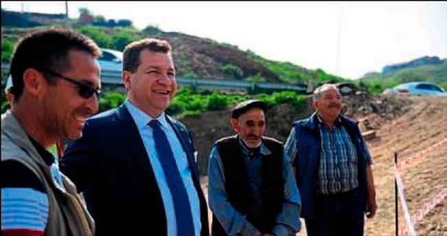 Kabakdere'nin yeni köprüsü gün sayıyor