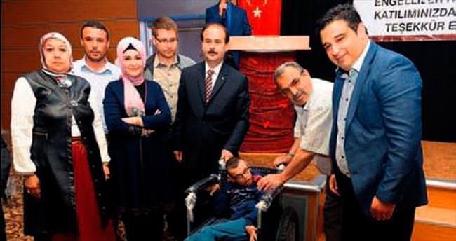Engelliler Haftası'nda yüz güldüren hediye
