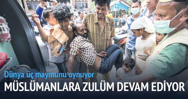Arakanlı Müslüman göçmenlere zulüm