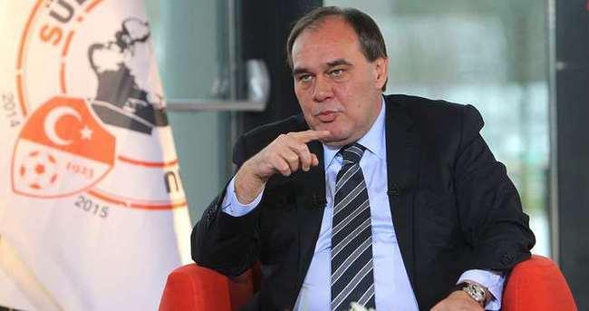 Demirören: 3 kulübümüz UEFA lisansı alamayacak