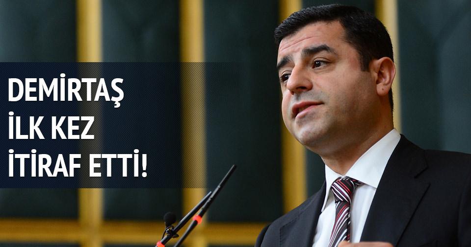 Demirtaş'tan HDP'nin baraj kaygısı itirafı