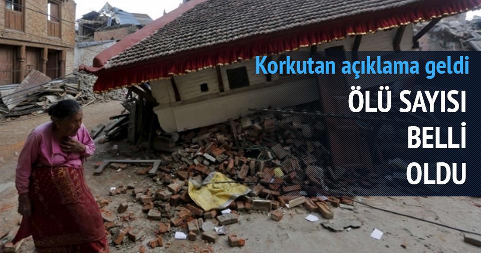 Nepal'de 7.4 şiddetinde deprem meydana geldi