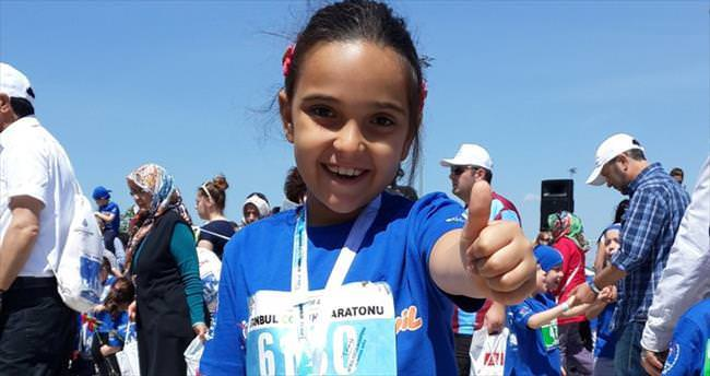 İstanbul'un minik maratoncuları