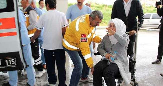 Karaman'da işçi midibüsü devrildi: 22 yaralı