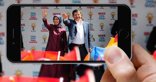 Davutoğlu, Periscope canlı yayınında