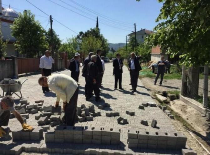 Köy Yollarında Çalışmalar Başladı