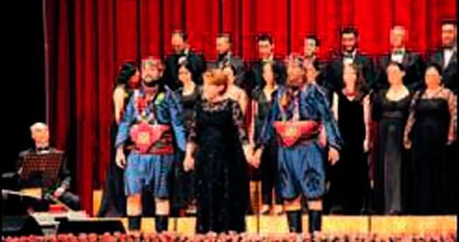 Hacettepe'de halk müziği konseri