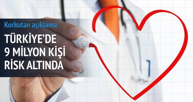 Önümüzdeki 10 yılda 9 milyon kalp risk altında