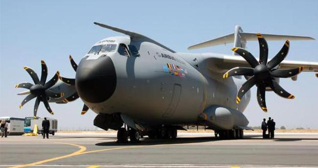 A400M'lerin test uçuşları durduruldu