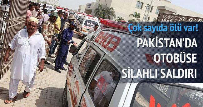 Pakistan'da silahlı saldırı: 41 ölü