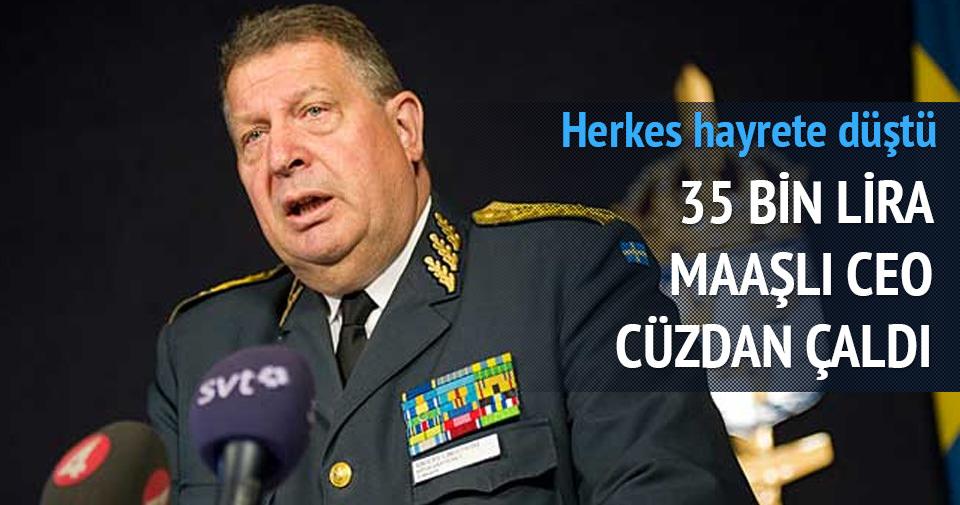 35 bin lira maaşlı CEO 20 liralık cüzdan çaldı!