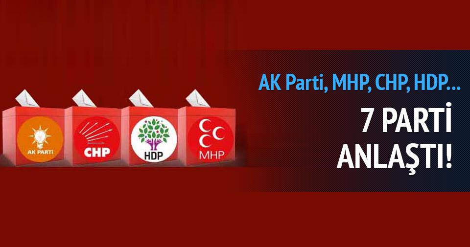 İzmir'de 7 parti anlaştı!