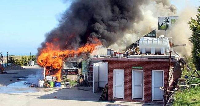 Zonguldak'ta yangın korkuttu