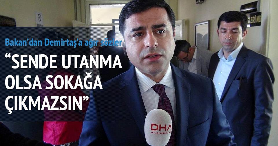Akdoğan: Sende utanma duygusu olsa sokağa çıkmazsın