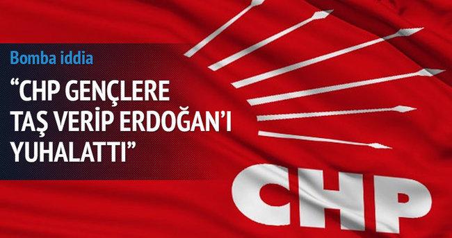 Güllüce: CHP Erdoğan'ı taşlattı