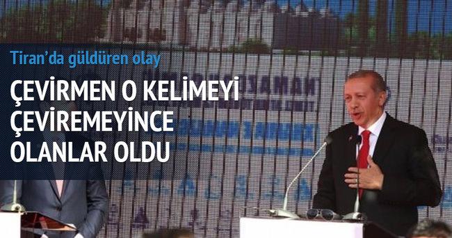 Erdoğan'ın konuşmasında güldüren anlar
