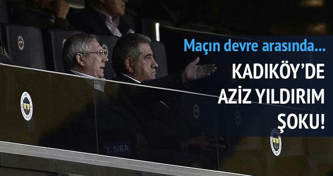 Kadıköy'de Aziz Yıldırım şoku!