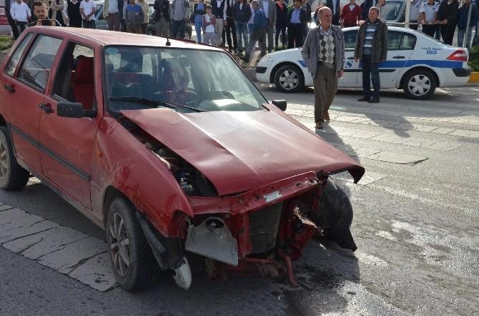 Tosya'da Trafik Kazası: 5 Yaralı