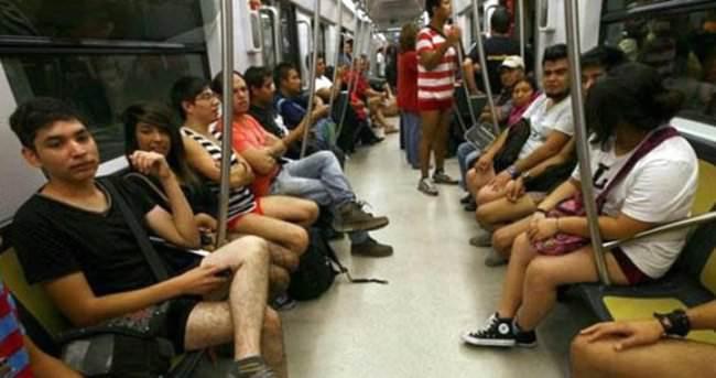 Çin metrosundan tuhaf kıyafet giyilmemesi uyarısı