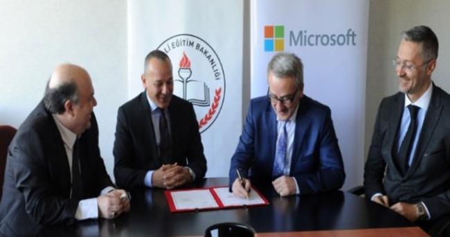MEB ile Microsoft'tan iş birliği