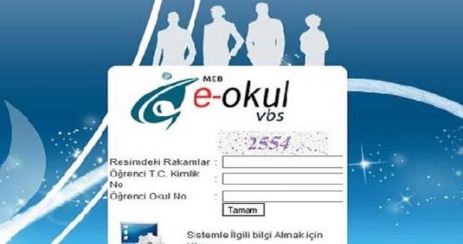 MEB E-Okul Veli Bilgilendirme ve eOkul Yönetim Bilgi Sistemi Öğrenci Bilgileri