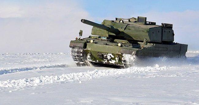 'Milli tank Altay 2018'de TSK envanterine girecek'