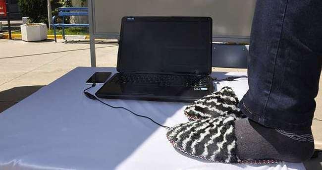 Bedensel engelliler için terlik mouse