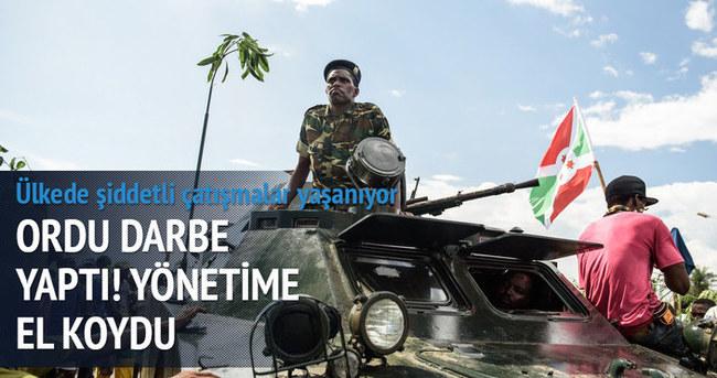 Burundi'de darbe oldu