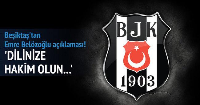 Beşiktaş'tan Emre Belözoğlu açıklaması!