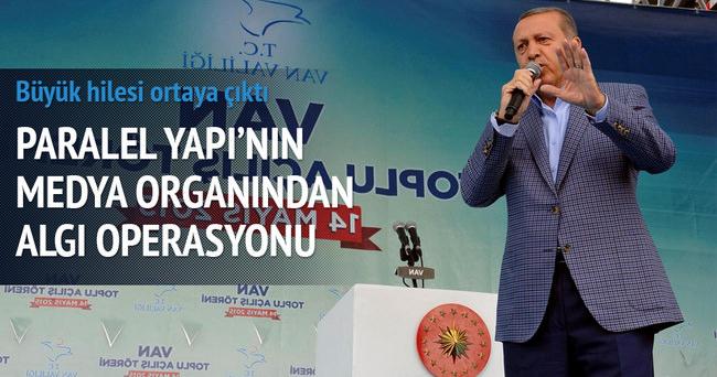 STV'nin hilesi Erdoğan konuşurken ortaya çıktı