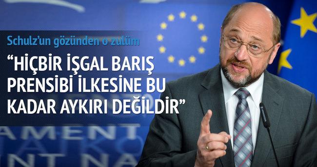 Avrupa Parlamento Başkanı Schulz'a ödül